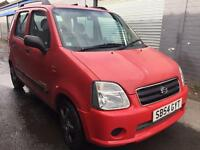 SALE! Bargain Suzuki wagon R+GL, long MOT ready to go