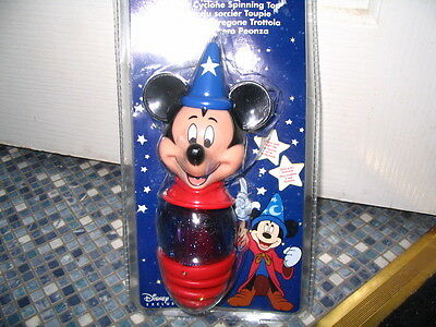 DISNEY STORE MICKEY MOUSE SORCEROR CYCLONE SPINNING TOP BRAND NEW! VERY RARE