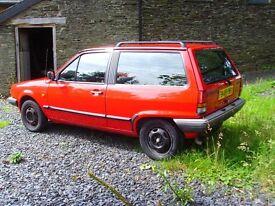 VW Polo Ranger 'Breadvan' 1.3 One Family Owned from New. Full history file.