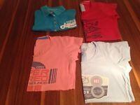 Ladies Medium Superdry T-Shirt and Polo Shirt Bundle