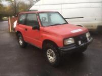 Suzuki Vitara 1.6 off road mot September 2018