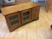 Ducal Pine TV and DVD storage cabinet