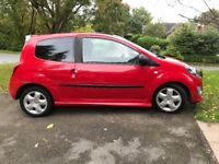 Renault twingo dynamique, Red, alloy wheels, sport seats, panoramic sunroof, tinted windows
