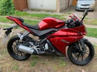 2018 Yamaha yzf r125 125cc