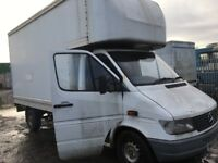 Mercedes sprinter 208d 310d 312d Breaking spare parts available engine gearbox ecu set rear axel