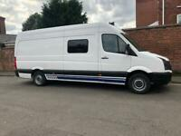 Vw crafter race van for hire