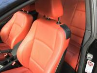 BMW 1 series coupe RED LEATHER INTERIOR