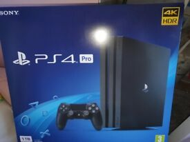 playstation 4 1TB with games