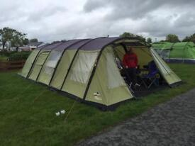 Vango Evoque 600 AirBeam Tent with awning