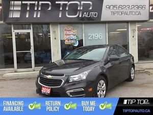 2016 Chevrolet Cruze LT ** Bluetooth, Backup Camera **