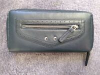 Navy Leather PURSE used once