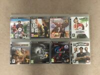 PS3 Games - 8 in total
