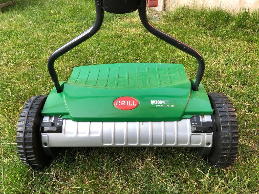 Brill RazorCut Premium 38 - Precision manual lawnmower | in West Parley,  Dorset | Gumtree