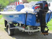 Orkney Dory 40HP Mercury With New Trailer