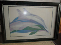 Framed Dolphin Prints