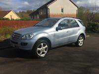 Mercedes ML 280 CDI Sport auto/tip £6400 NO MORE TIME WASTERS !