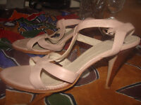 ladies shoes by Bertie size 5 in a very pale pink £15 ono