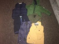 1.5 &2-3 boys coats Next