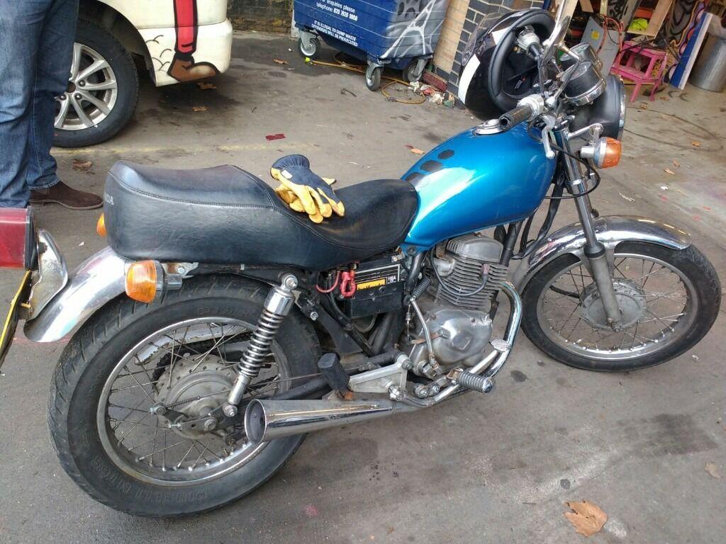 honda twin 125cc project bike or parts in new malden london gumtree. Black Bedroom Furniture Sets. Home Design Ideas