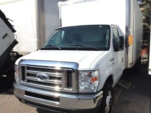 2013 Ford E-350 CUBE VAN..16 FOOT