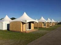 Ex Stock - Beach Hut/Lodges 1-22 units available