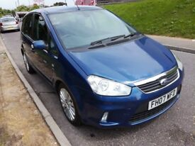 Ford c-max, low mileage.