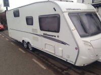 swift bowmere 6 berth like new in side and out full awning px poss