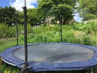 Large safe Jumpking Trampoline 12ft diameter very strong