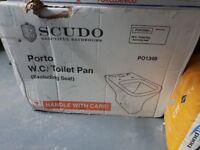 Scudo toilet pan