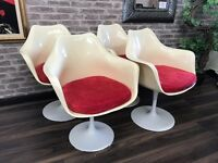 Set of 4 Retro Tulip Chairs
