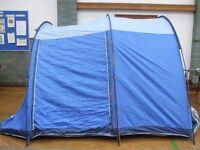 A Vango Woburn 500 Tent Sleeps 5/6.