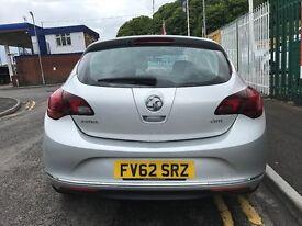 2012 (62 reg) Vauxhall Astra 1.7 CDTi 16v SRi 5dr Turbo Diesel 6 Speed Manual