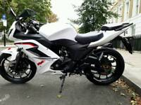 Sell or swap white knuckle sport 125cc motorcycle