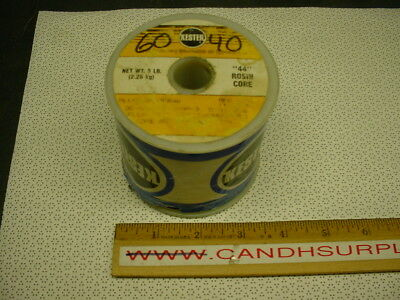 Kester Qqs-571-sn60 Rosin Core Solder 6040 5 Lbs .050