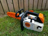 Stihl ms 200T arborist chainsaw