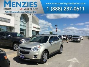 2014 Chevrolet Equinox LTZ, GPS NAV, Bluetooth, Clean Carproof