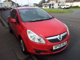 59 vauxhall corsa 1.0 life 3door hatchback.petrol.manual.full service records 63000 miles.