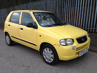 2003 (53) Suzuki Alto 1.1 GL 5dr - MOT expired - THE PRICE IS £250 - NO OFFERS