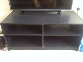 Black TV Unit URGENT Balham Station £15 to be collected by tonight the latest
