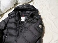 Genuine MONCLER Black HIMALAYA Down Jacket SIZE 6 44-46INCH