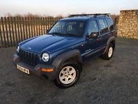 2004 04 JEEP CHEROKEE 2.4 SPORT 4x4 JEEP - *ONLY 96,000 MILES* - *FEBRUARY 2018 M.O.T*