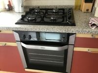 Oven, hob & extractor