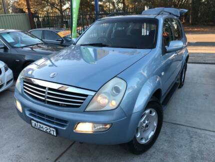 2005 Ssangyong Rexton SUV 4x4 ONLY 90,000 KM LOGBOOKS 2 KEYS MAGS