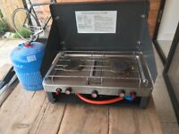 Camping stove snd gas cylinder