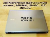 Acer fast laptop , great specs
