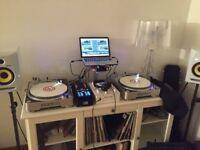 Stanton T80 Turntables (Decks Pair) - Free Mixer for beginner - DJ gear