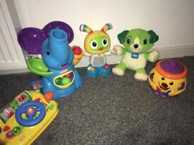 Leapfrog fisher price little tikes Playskool beatbo scout