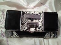 Jane Norman snakeskin style purse.