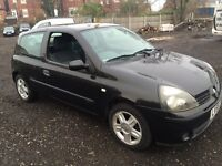 Renault Clio extreme car 1.2 petrol 89000 miles new cambelt and water pump runs mint at only £399