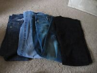 Flare Jeans size 8 eight pairs only ten pounds